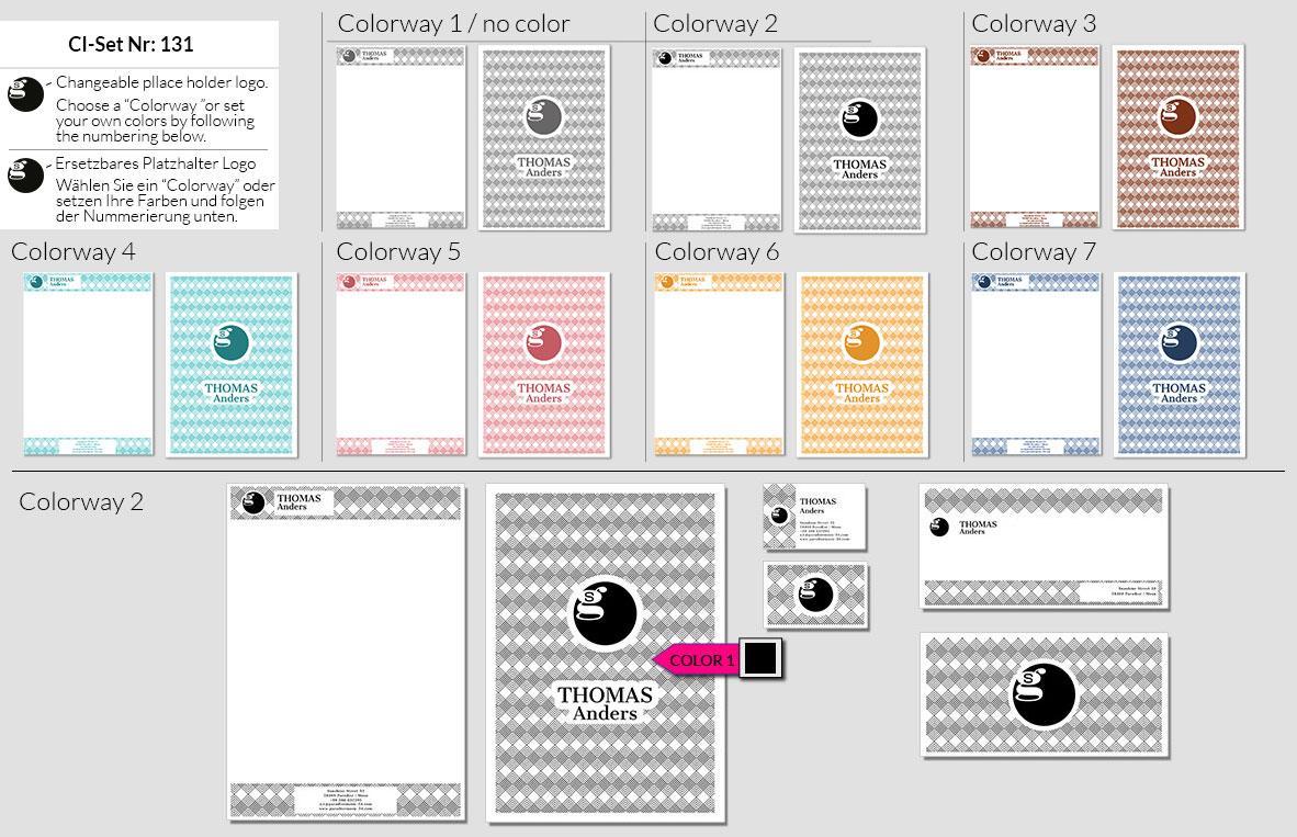 131 Stationery Corporate Design Geschaeftsausstattung Branding 2