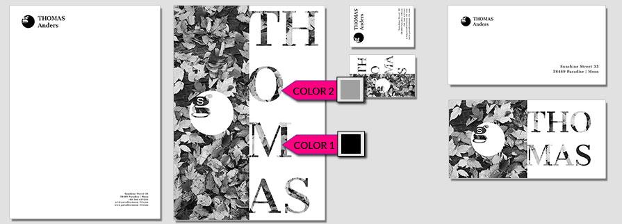 133 Stationery Corporate Design Geschaeftsausstattung Branding 1