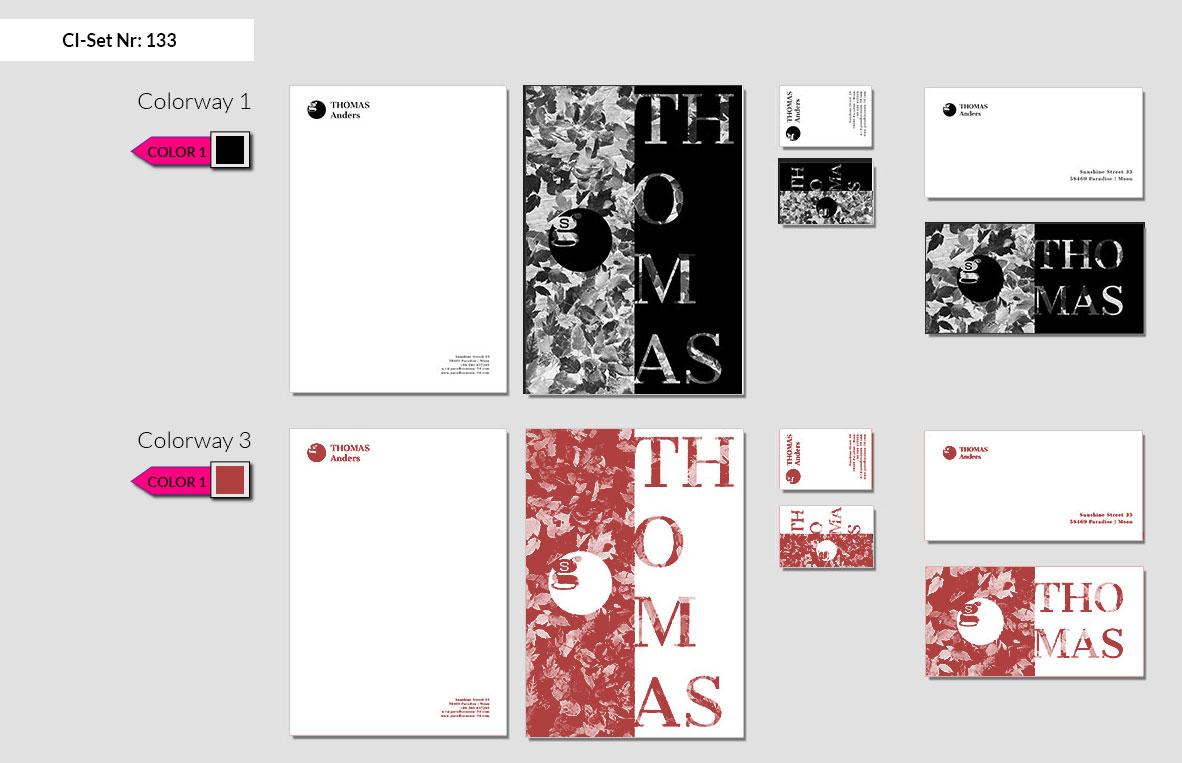 133 Stationery Corporate Design Geschaeftsausstattung Branding 3