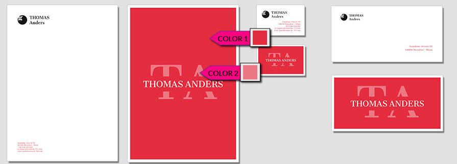 134 Stationery Corporate Design Geschaeftsausstattung Branding 1