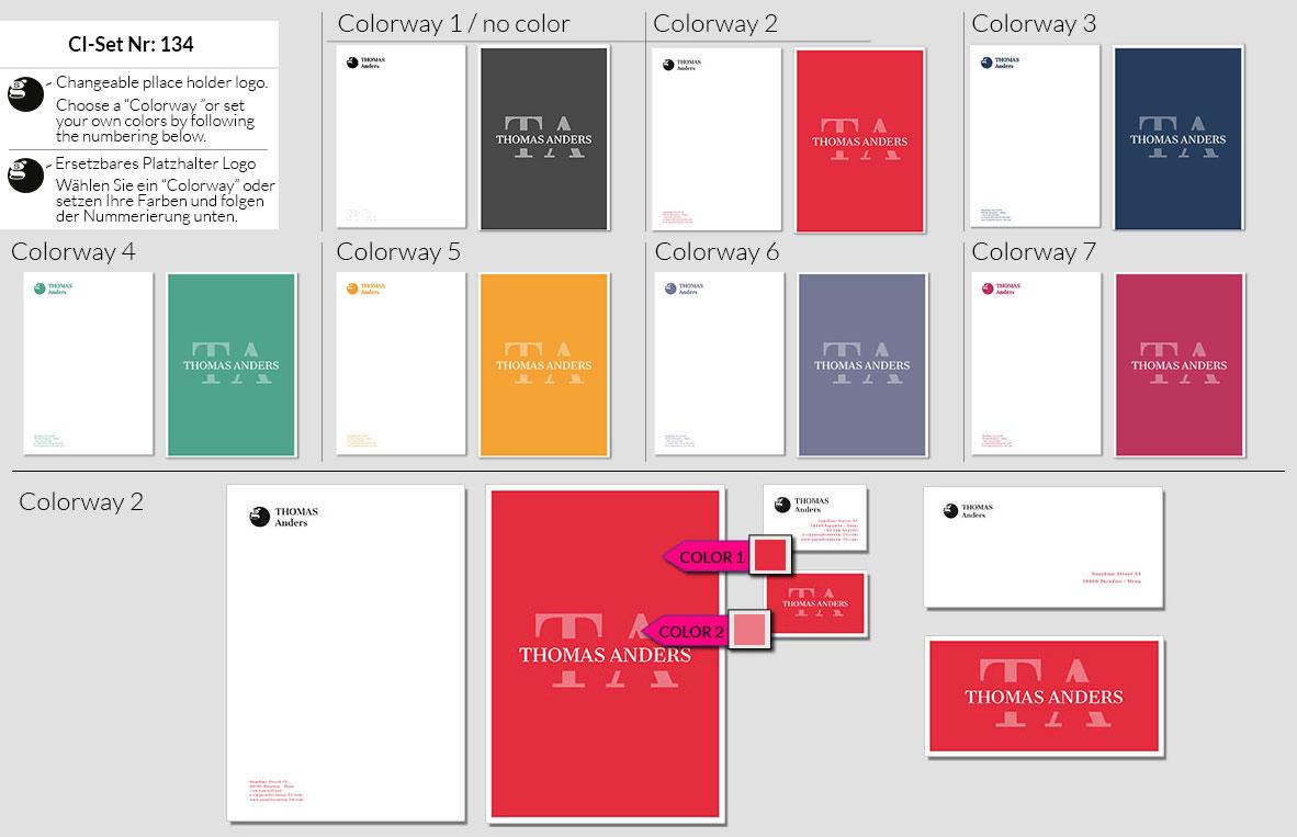134 Stationery Corporate Design Geschaeftsausstattung Branding 2
