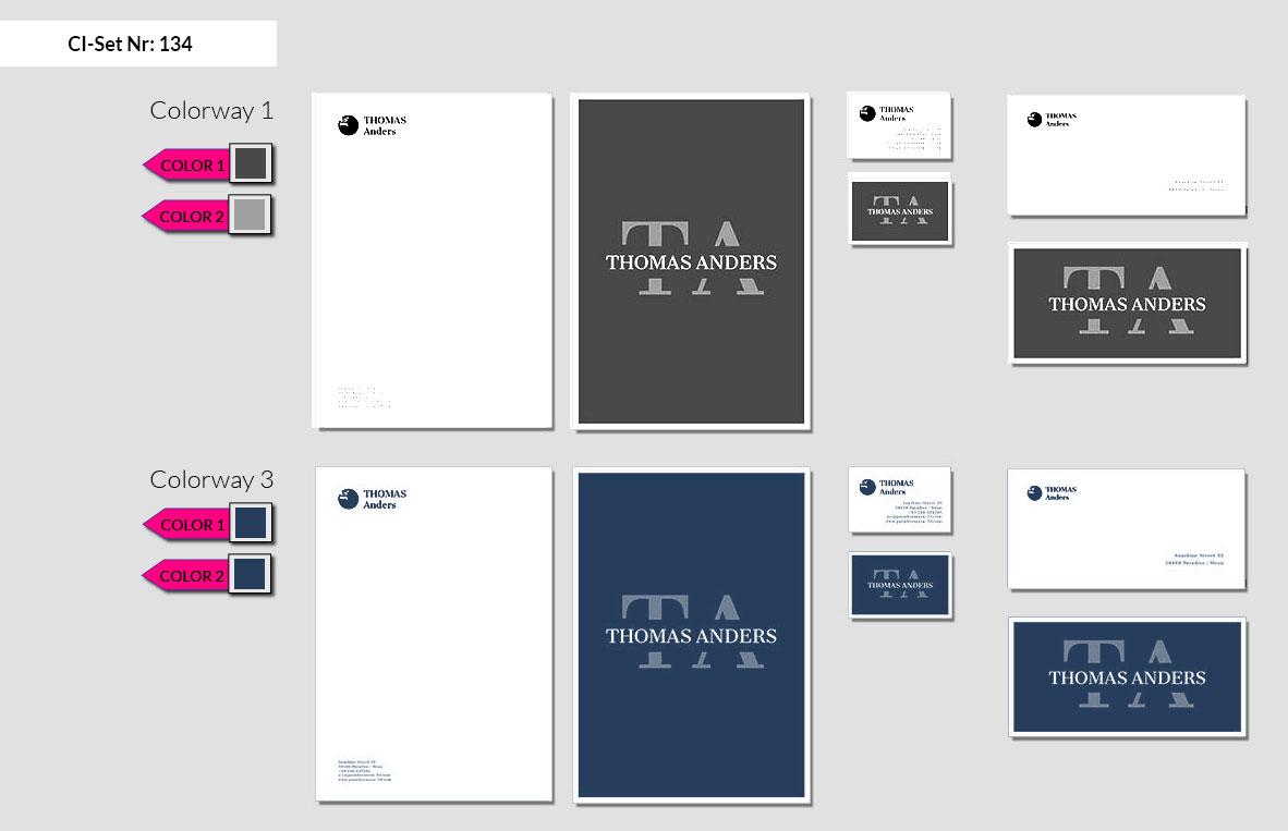 134 Stationery Corporate Design Geschaeftsausstattung Branding 3