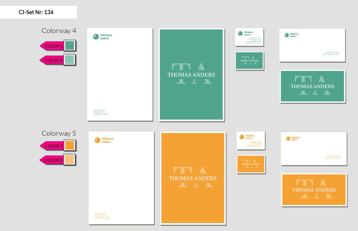 134 Stationery Corporate Design Geschaeftsausstattung Branding 4