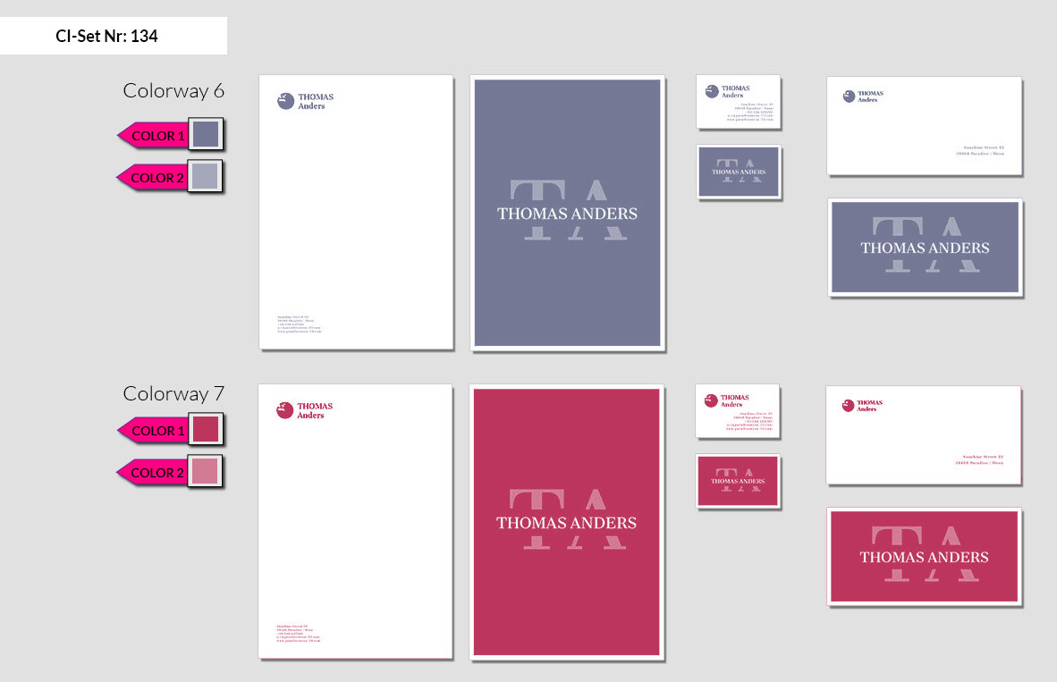 134 Stationery Corporate Design Geschaeftsausstattung Branding 5