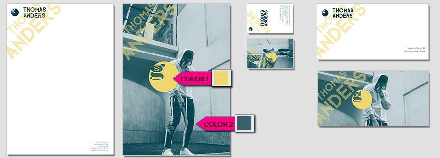 135 Stationery Corporate Design Geschaeftsausstattung Branding 1