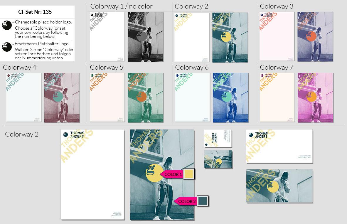 135 Stationery Corporate Design Geschaeftsausstattung Branding 2