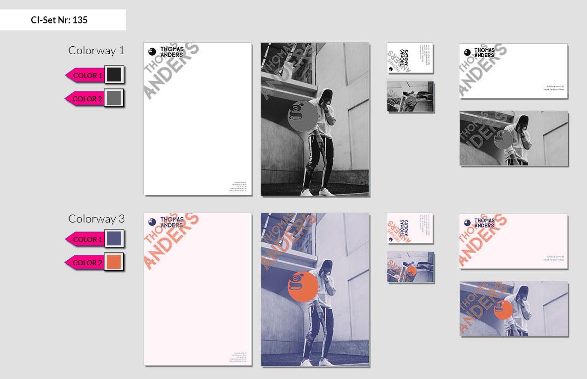 135 Stationery Corporate Design Geschaeftsausstattung Branding 3