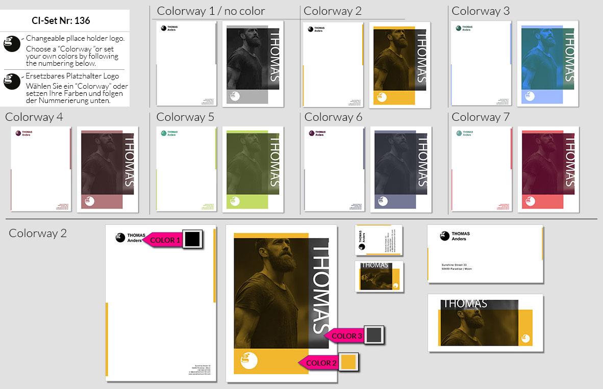 136 Stationery Corporate Design Geschaeftsausstattung Branding 2