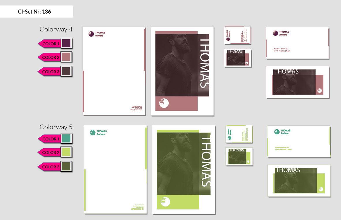 136 Stationery Corporate Design Geschaeftsausstattung Branding 4