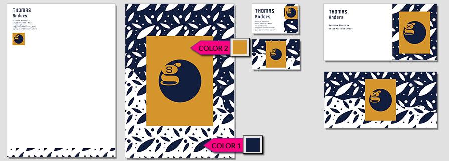 141 Stationery Corporate Design Geschaeftsausstattung Branding 1