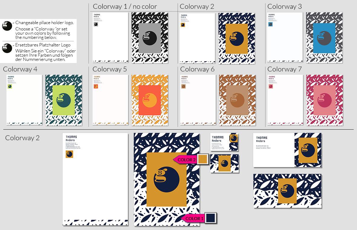141 Stationery Corporate Design Geschaeftsausstattung Branding 2