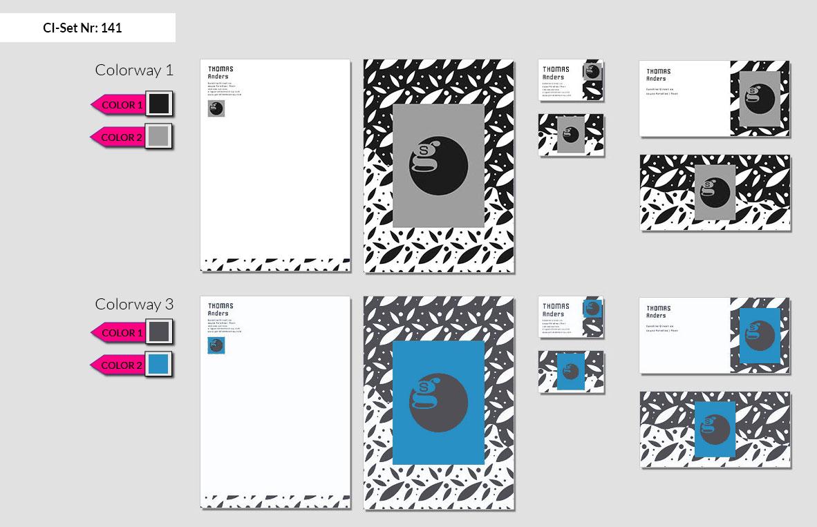 141 Stationery Corporate Design Geschaeftsausstattung Branding 3