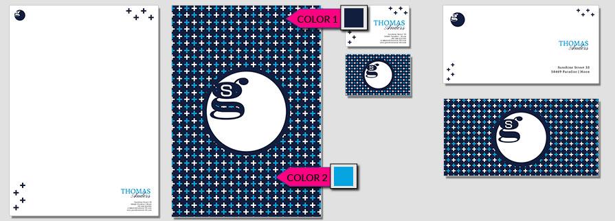 145 Stationery Corporate Design Geschaeftsausstattung Branding 1