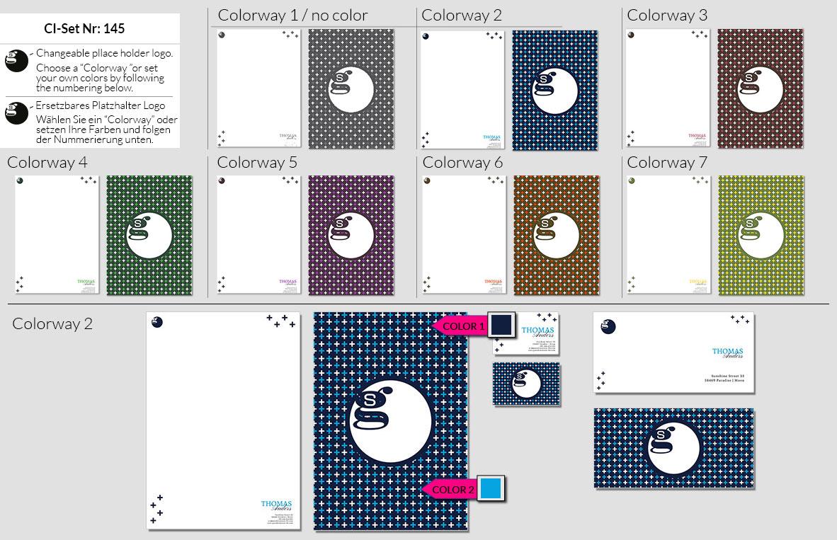145 Stationery Corporate Design Geschaeftsausstattung Branding 2