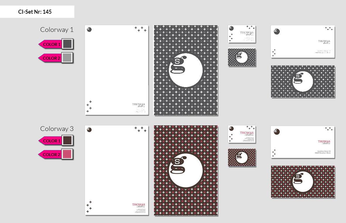145 Stationery Corporate Design Geschaeftsausstattung Branding 3
