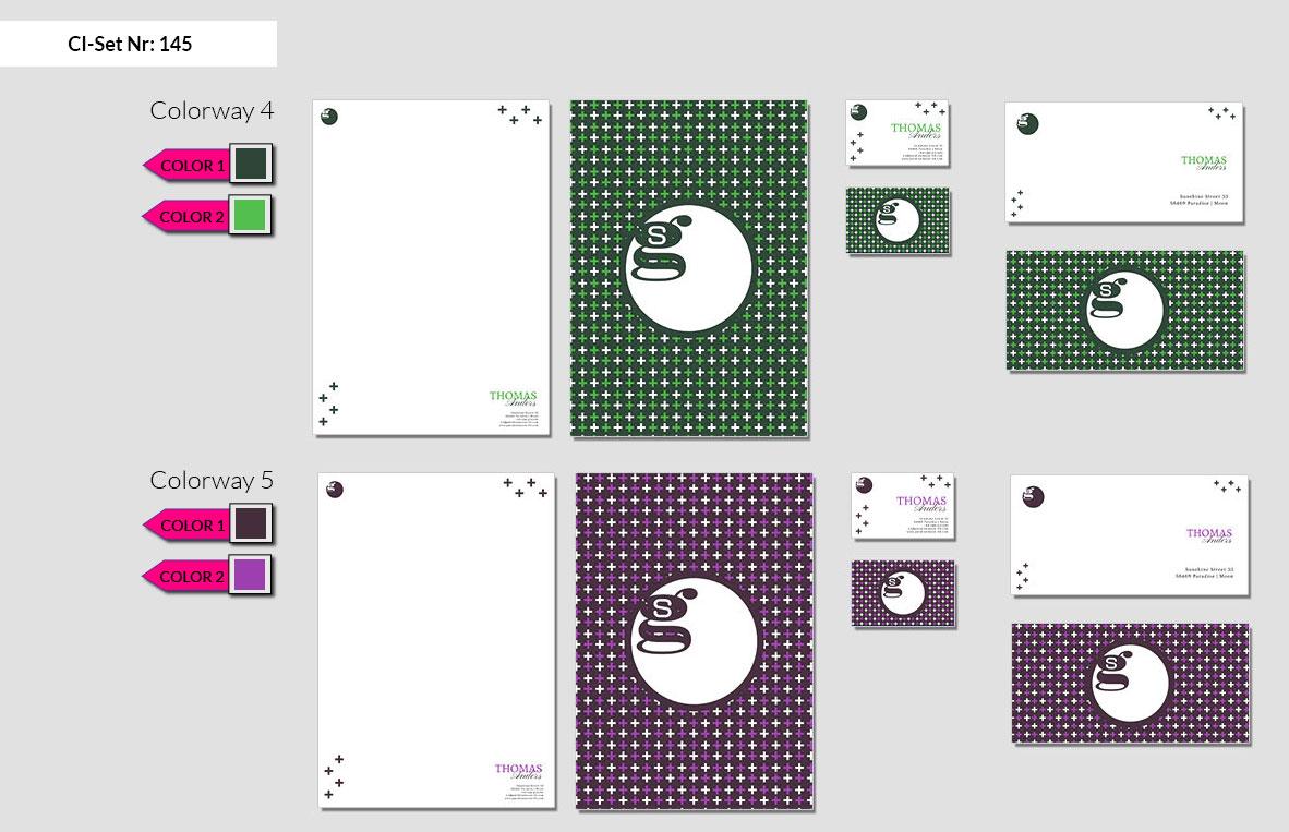 145 Stationery Corporate Design Geschaeftsausstattung Branding 4