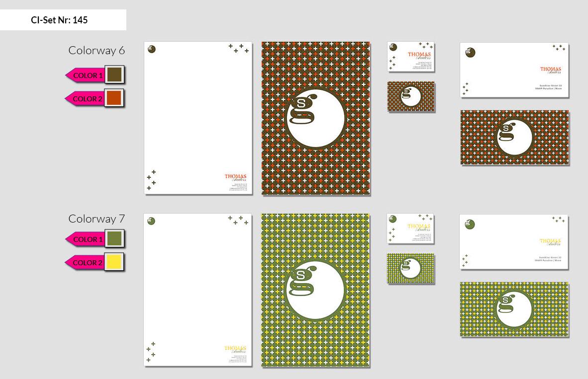 145 Stationery Corporate Design Geschaeftsausstattung Branding 5