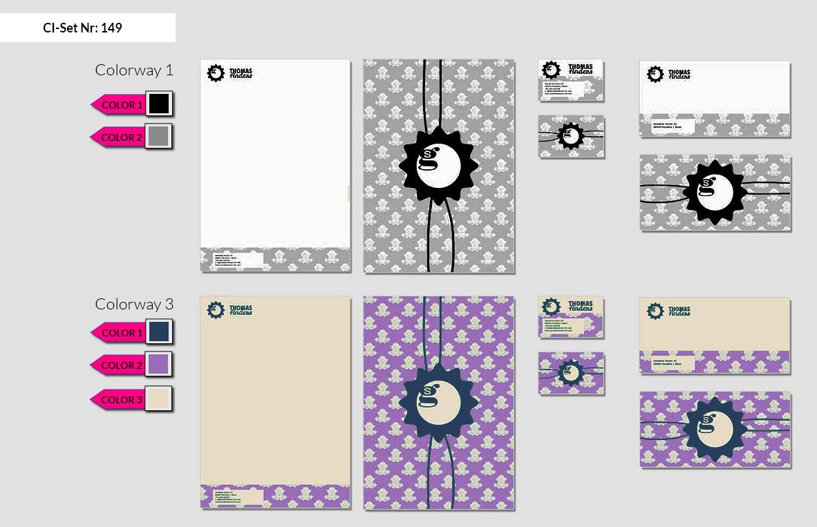 149 Stationery Corporate Design Geschaeftsausstattung Branding 3