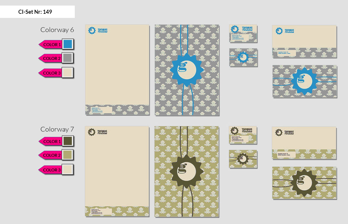 149 Stationery Corporate Design Geschaeftsausstattung Branding 5