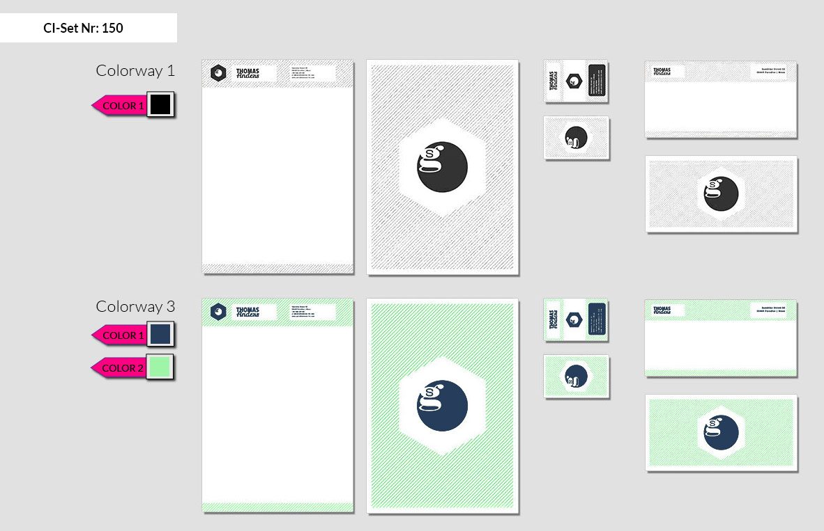 150 Stationery Corporate Design Geschaeftsausstattung Branding 3
