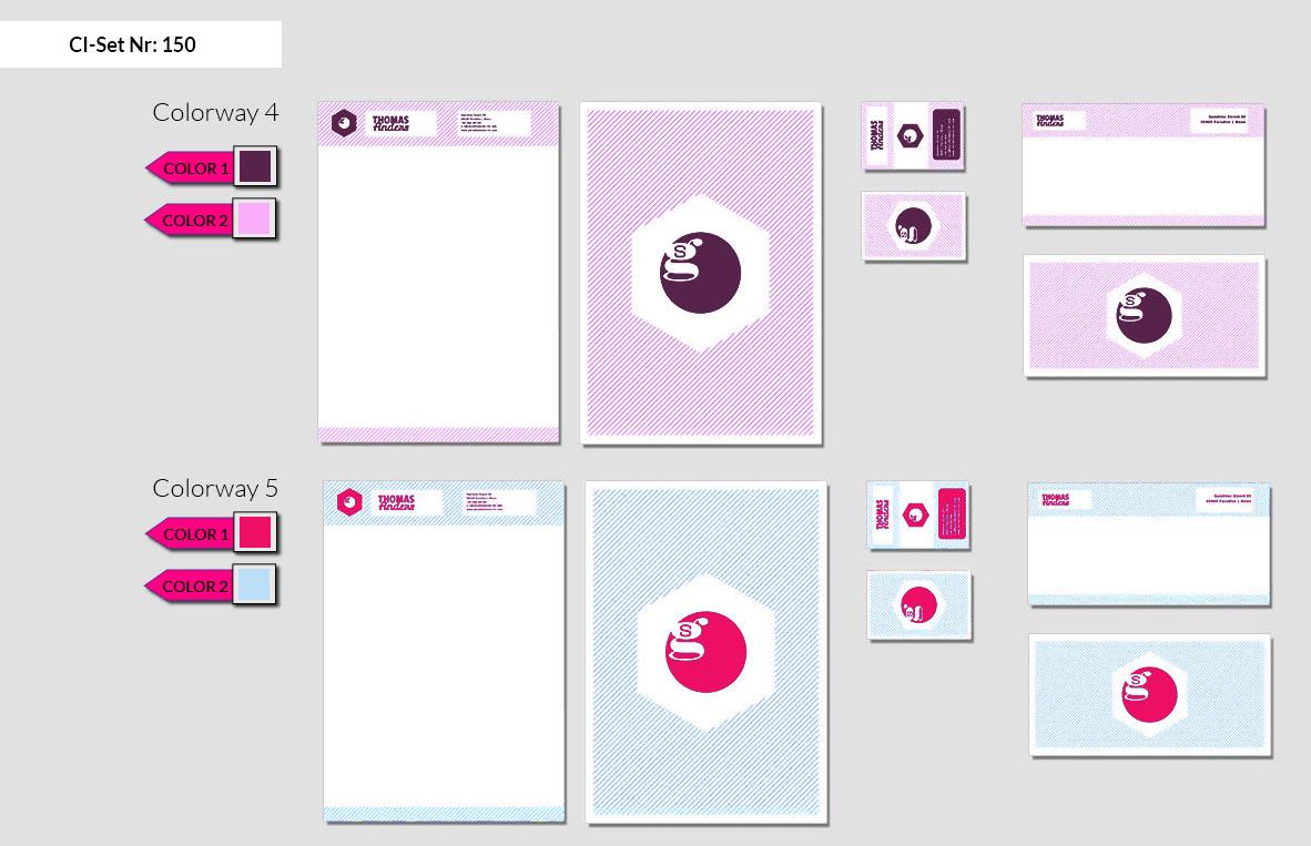 150 Stationery Corporate Design Geschaeftsausstattung Branding 4