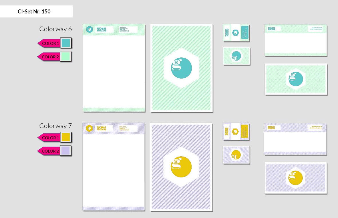 150 Stationery Corporate Design Geschaeftsausstattung Branding 5