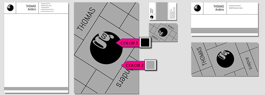151 Stationery Corporate Design Geschaeftsausstattung Branding 1