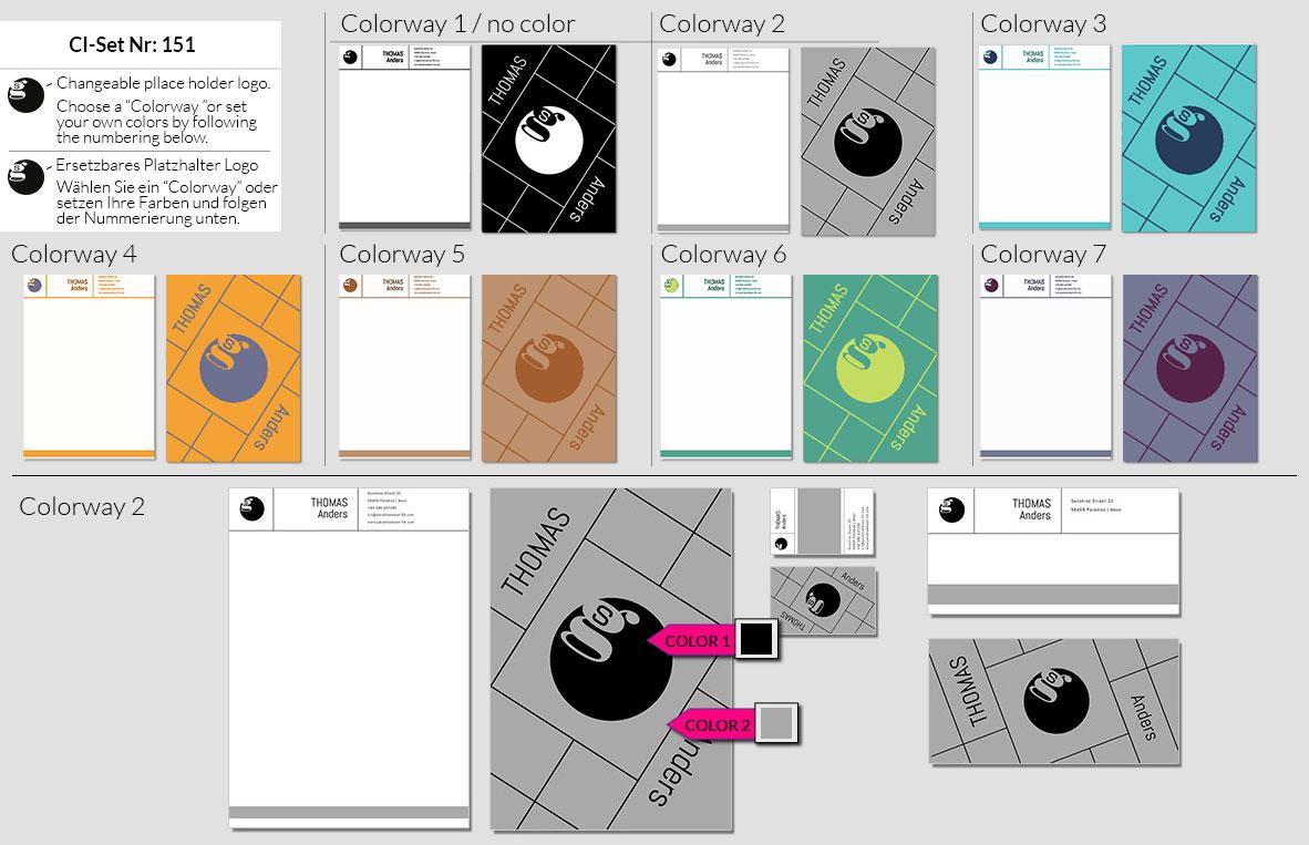 151 Stationery Corporate Design Geschaeftsausstattung Branding 2