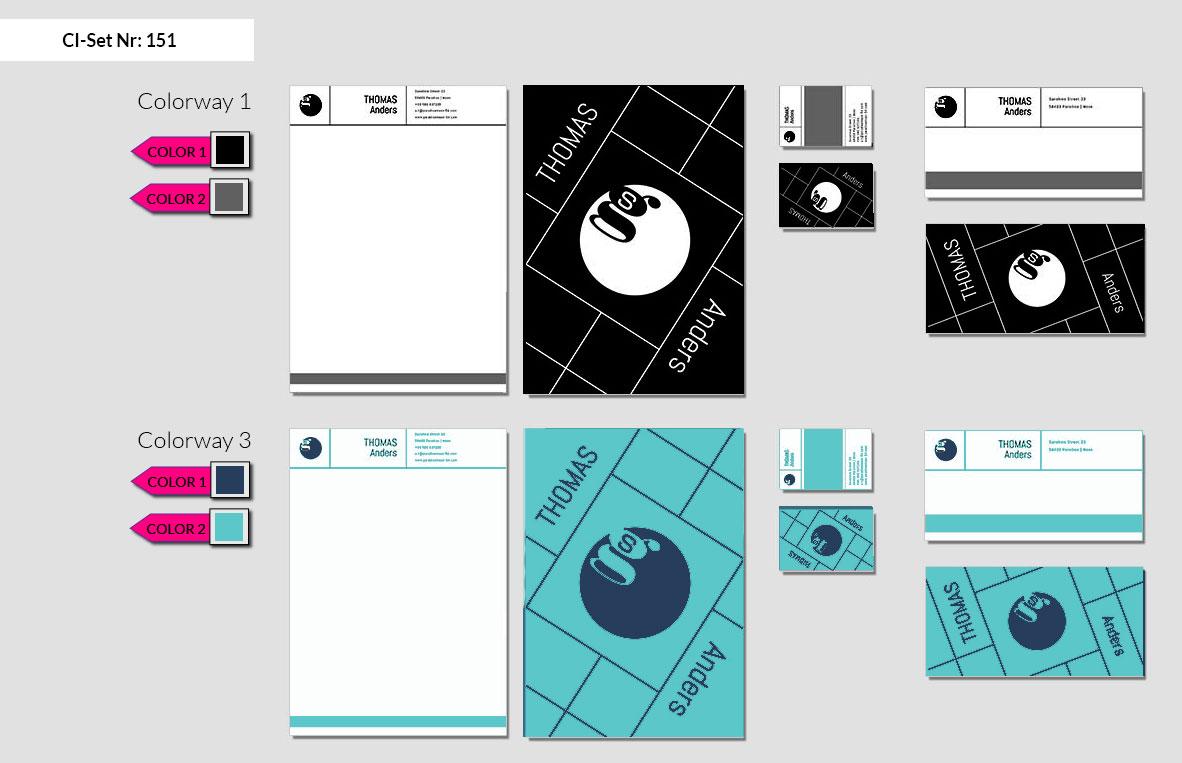 151 Stationery Corporate Design Geschaeftsausstattung Branding 3