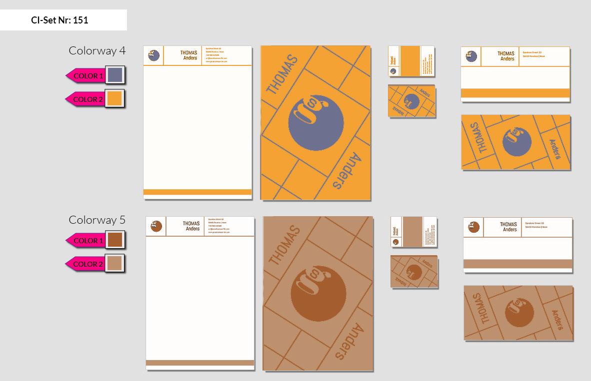151 Stationery Corporate Design Geschaeftsausstattung Branding 4