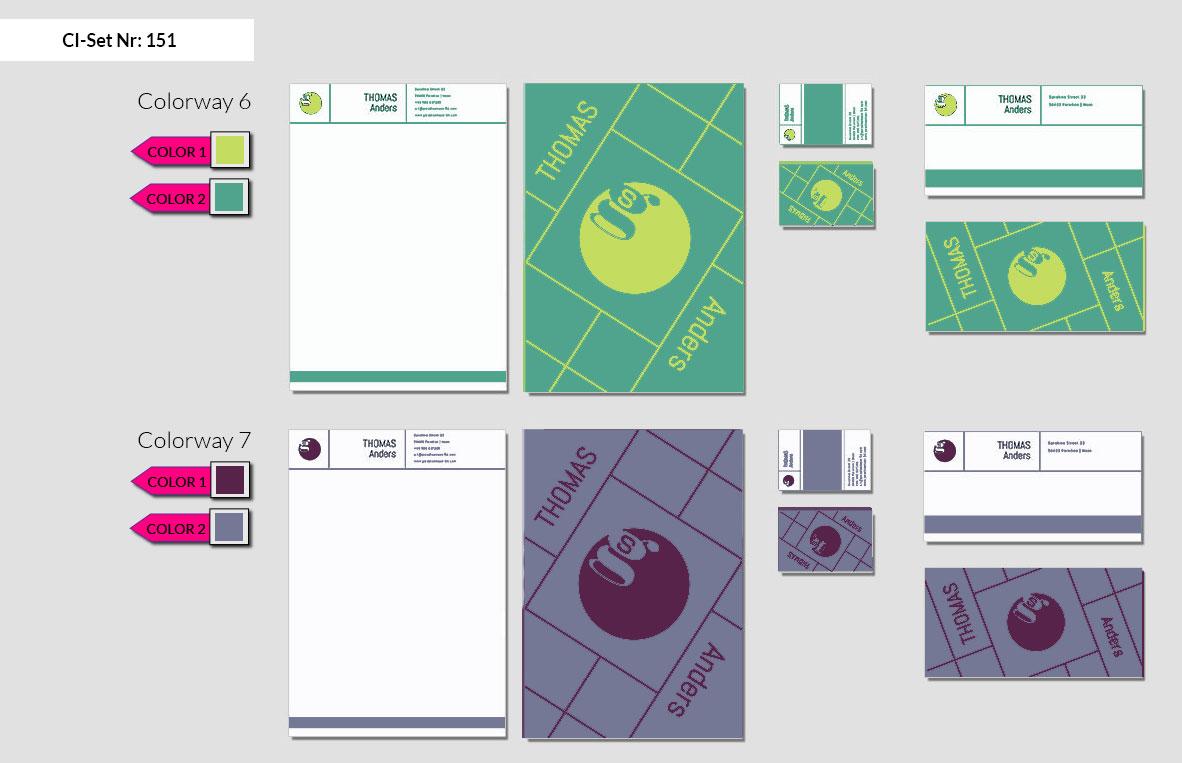 151 Stationery Corporate Design Geschaeftsausstattung Branding 5
