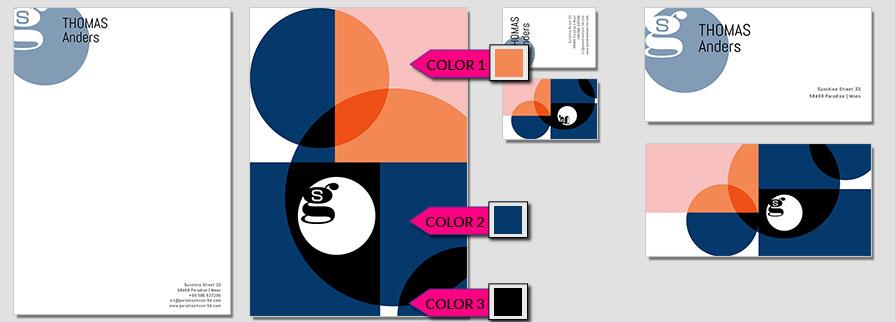 153 Stationery Corporate Design Geschaeftsausstattung Branding 1