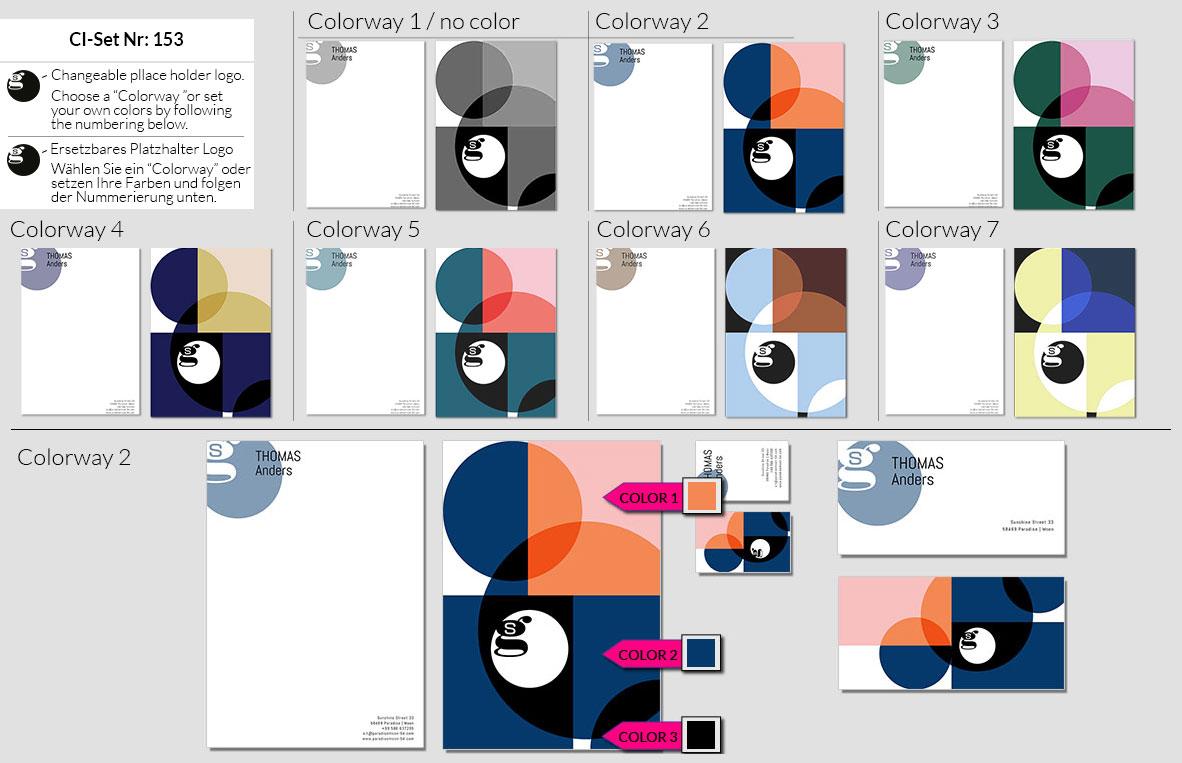 153 Stationery Corporate Design Geschaeftsausstattung Branding 2