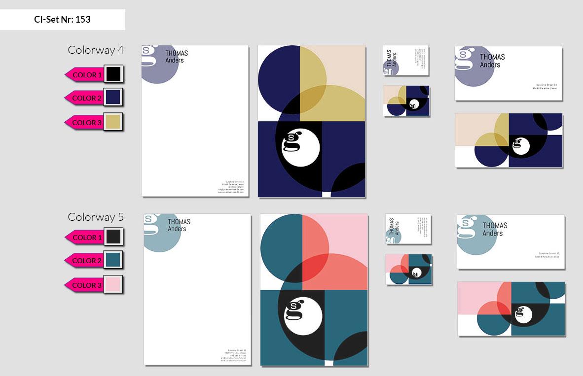 153 Stationery Corporate Design Geschaeftsausstattung Branding 4