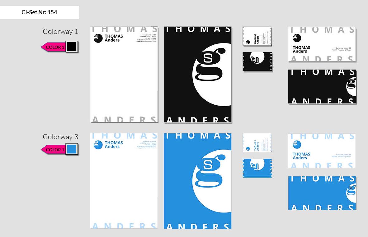 154 Stationery Corporate Design Geschaeftsausstattung Branding 3
