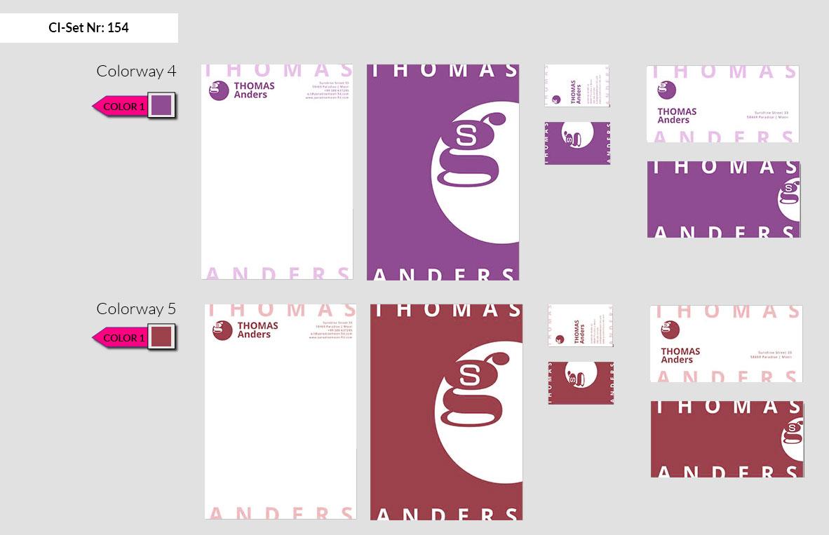 154 Stationery Corporate Design Geschaeftsausstattung Branding 4
