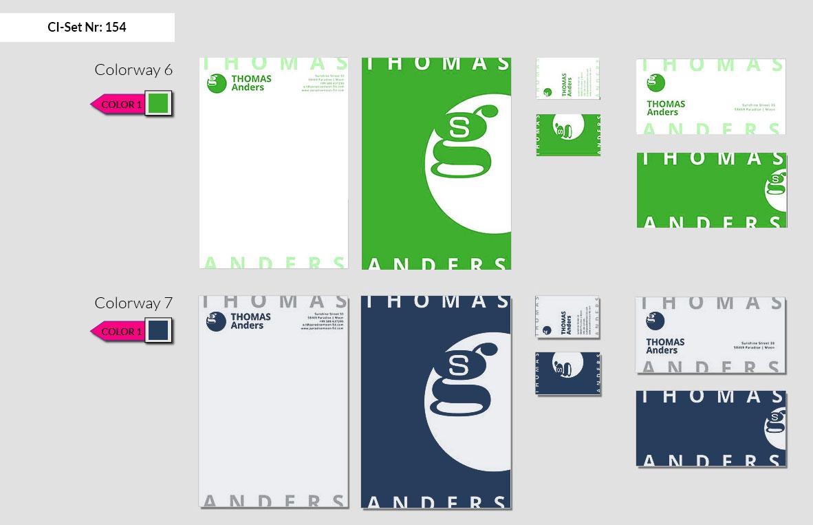 154 Stationery Corporate Design Geschaeftsausstattung Branding 5