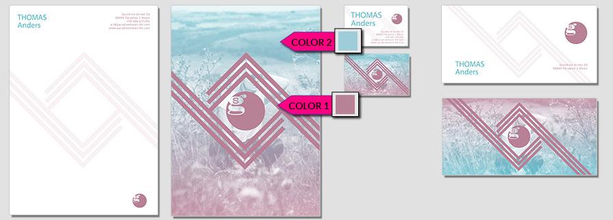 155 Stationery Corporate Design Geschaeftsausstattung Branding 1