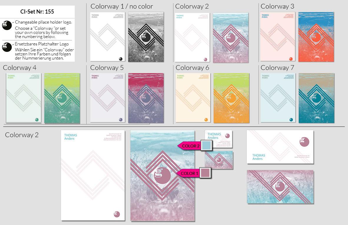 155 Stationery Corporate Design Geschaeftsausstattung Branding 2