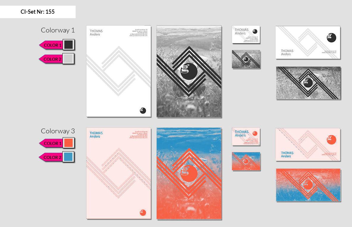 155 Stationery Corporate Design Geschaeftsausstattung Branding 3