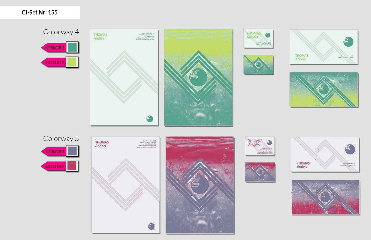 155 Stationery Corporate Design Geschaeftsausstattung Branding 4