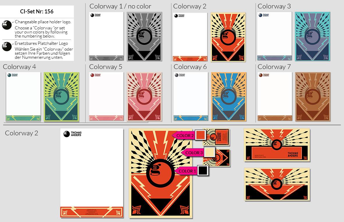 156 Stationery Corporate Design Geschaeftsausstattung Branding 2