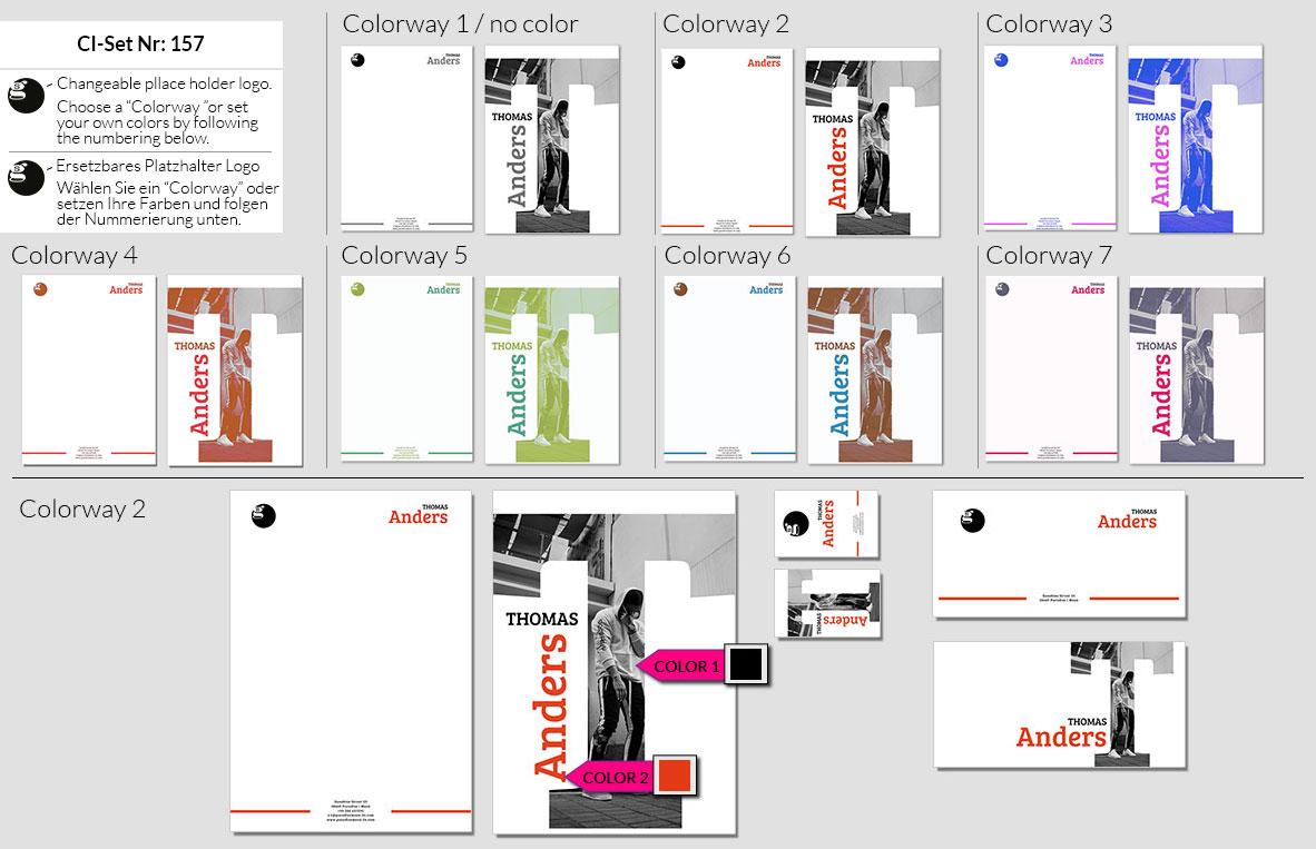 157 Stationery Corporate Design Geschaeftsausstattung Branding 2
