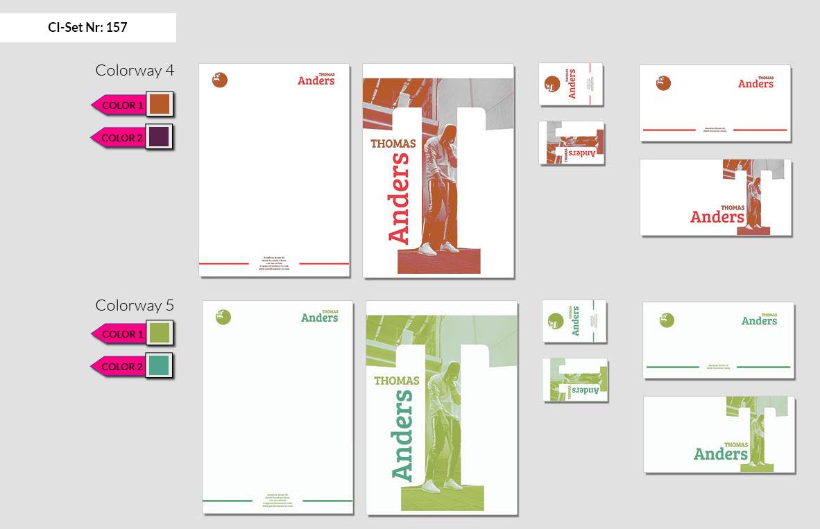 157 Stationery Corporate Design Geschaeftsausstattung Branding 4