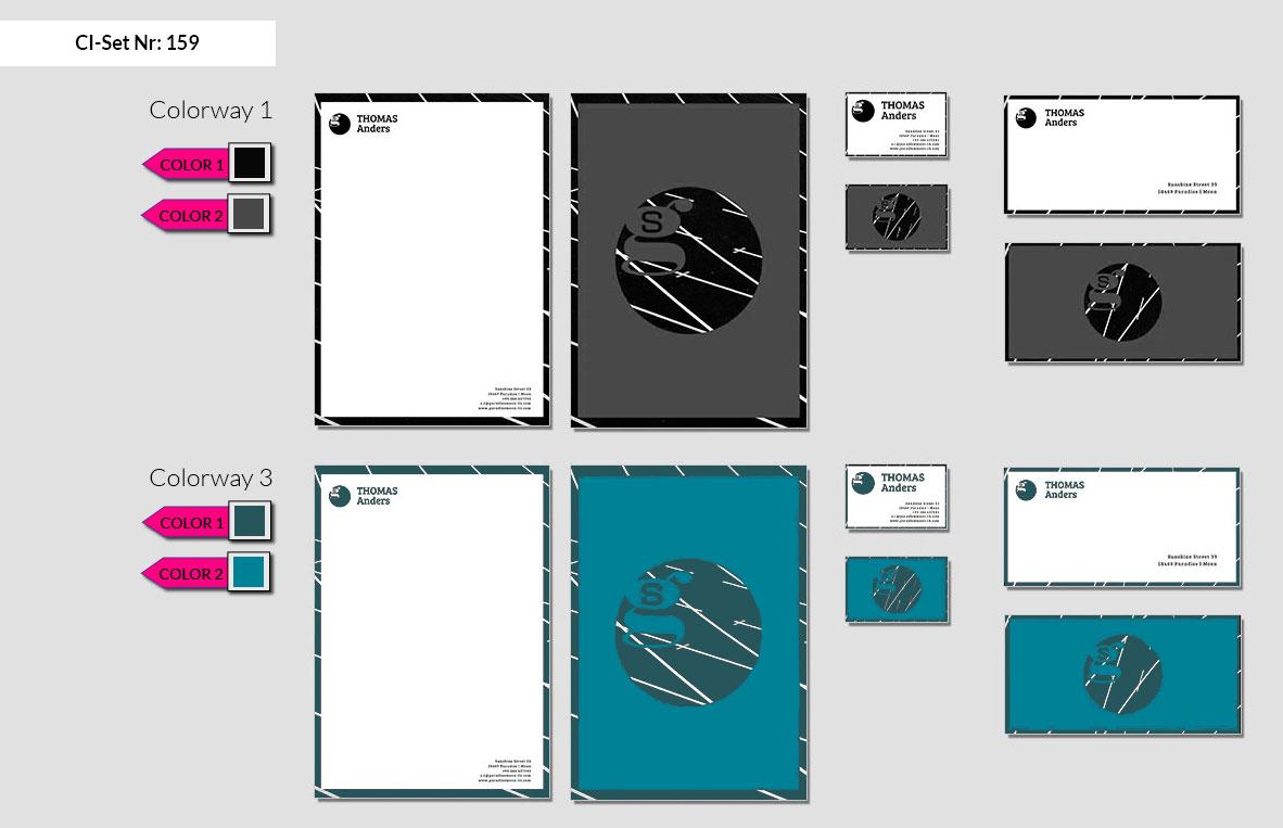 159 Stationery Corporate Design Geschaeftsausstattung Branding 3