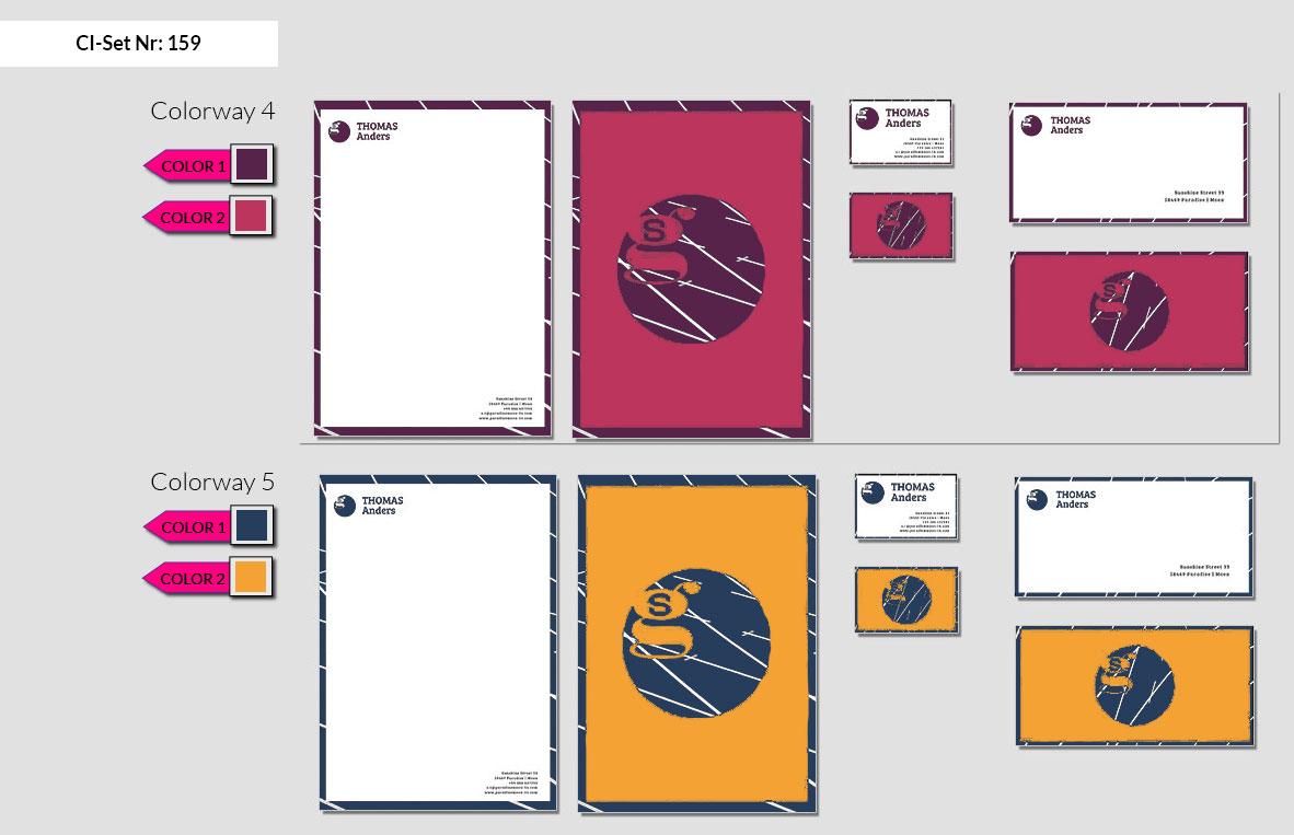 159 Stationery Corporate Design Geschaeftsausstattung Branding 4