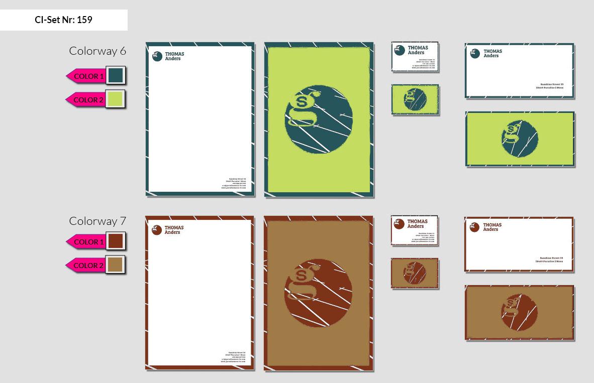 159 Stationery Corporate Design Geschaeftsausstattung Branding 5