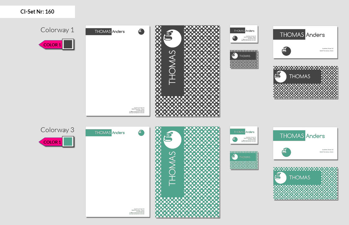 160 Stationery Corporate Design Geschaeftsausstattung Branding 3
