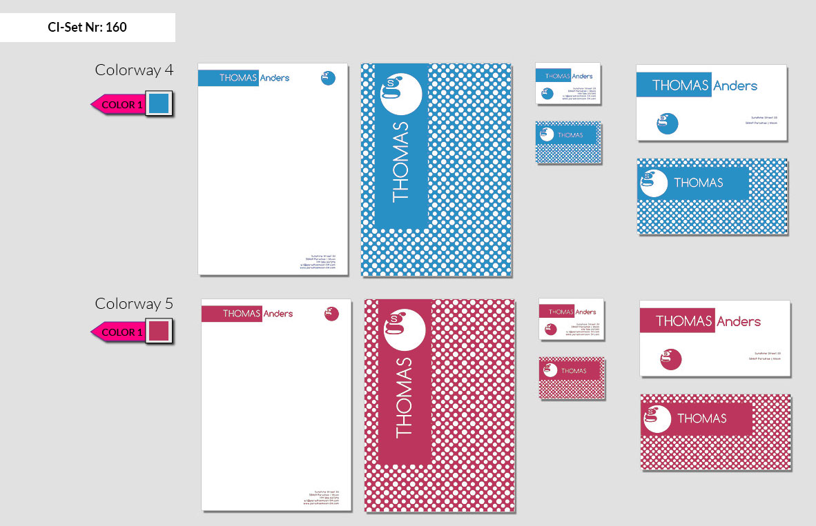 160 Stationery Corporate Design Geschaeftsausstattung Branding 4