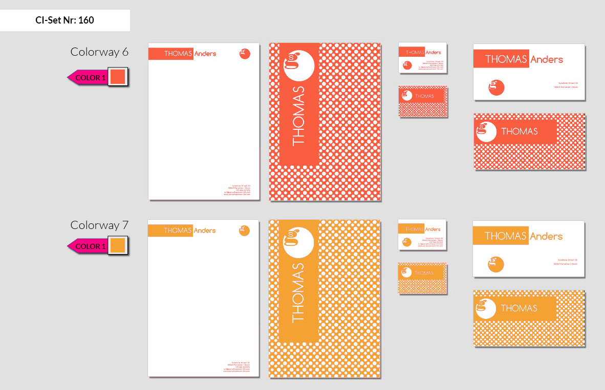 160 Stationery Corporate Design Geschaeftsausstattung Branding 5
